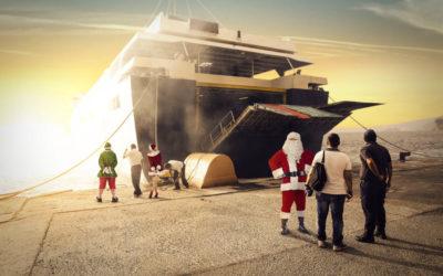 Julecruise med danskebåten
