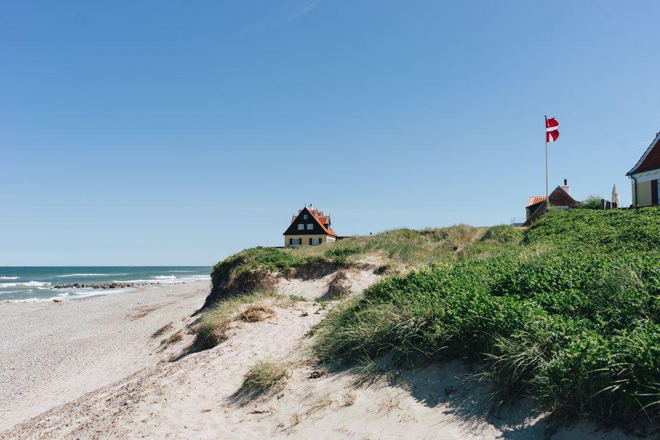STRANDLIV I SKAGEN: Danmark er kjent for sine langstrakte strender. © Anne-Sophie Rosenvinge